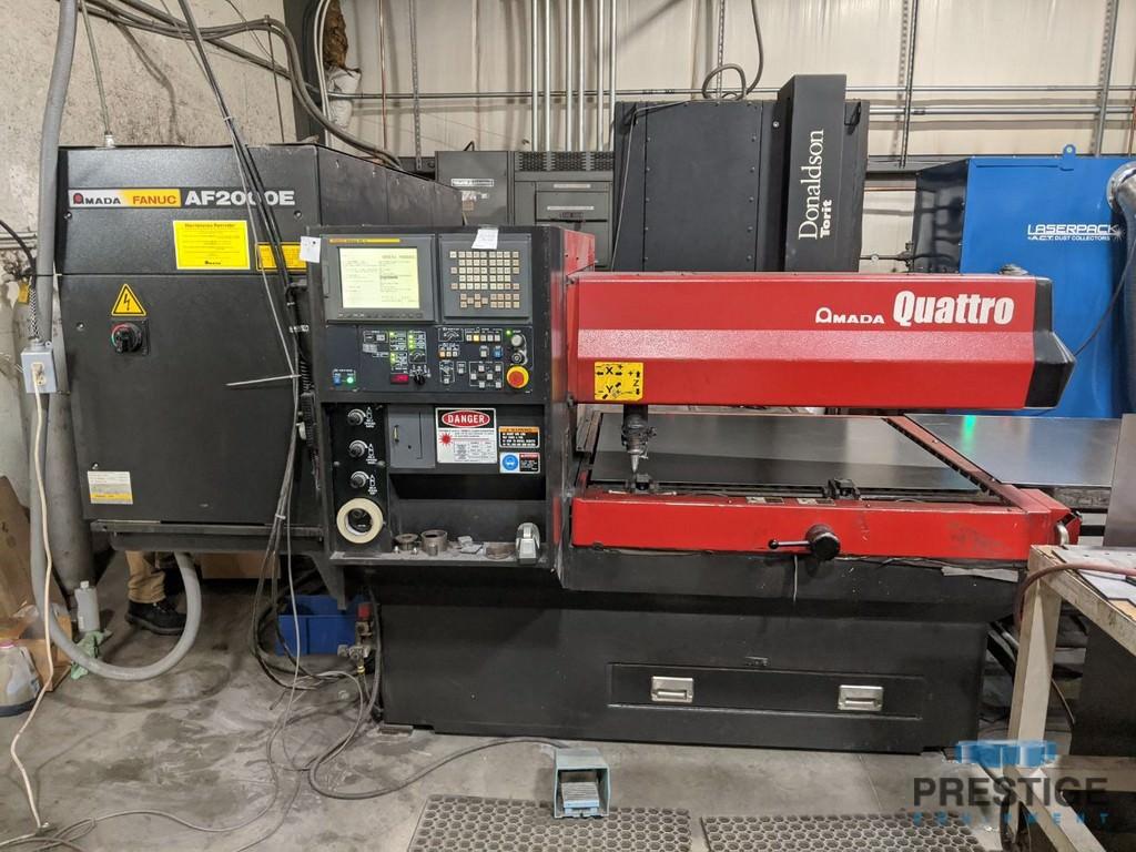 Amada Quattro 2 KW CO2 Laser