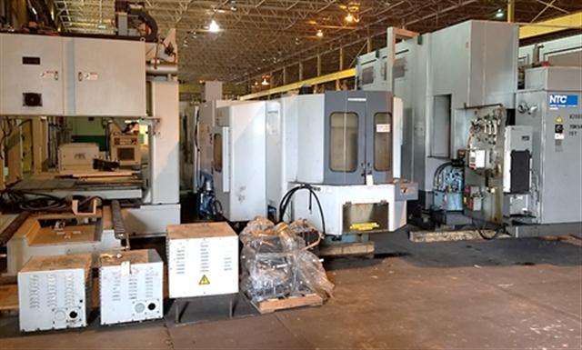 CNC Machining Centers (Vertical, Horizontal)