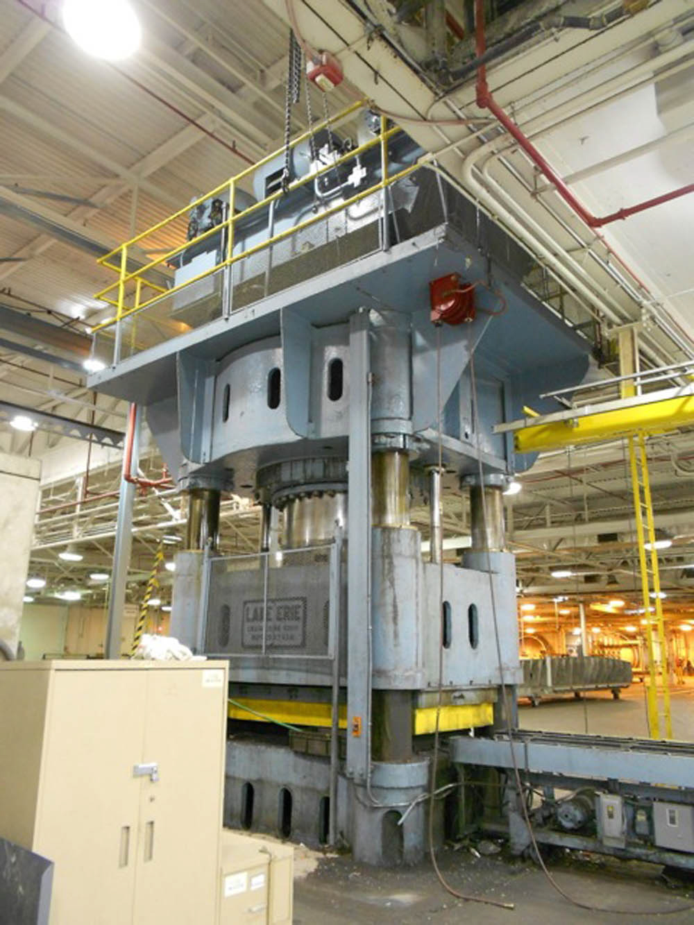 Used Presses For Sale - Lake Erie - 4 Post Hydraulic Press