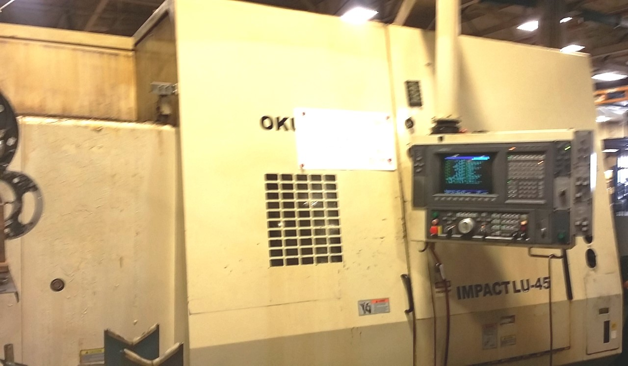 OKUMA  2000 CNC 4-AXIS TURNING CENTER