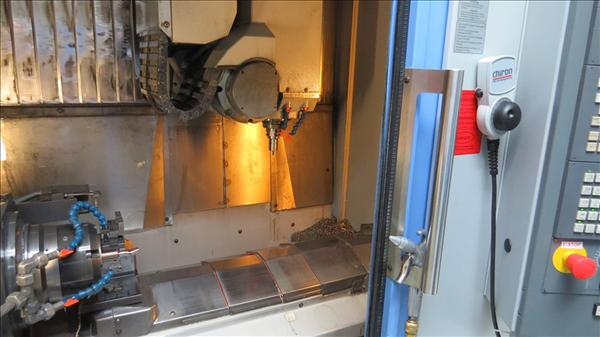CHIRON FZ-12KS HIGH SPEED 5-AXIS MILLING AND TURNING CENTER