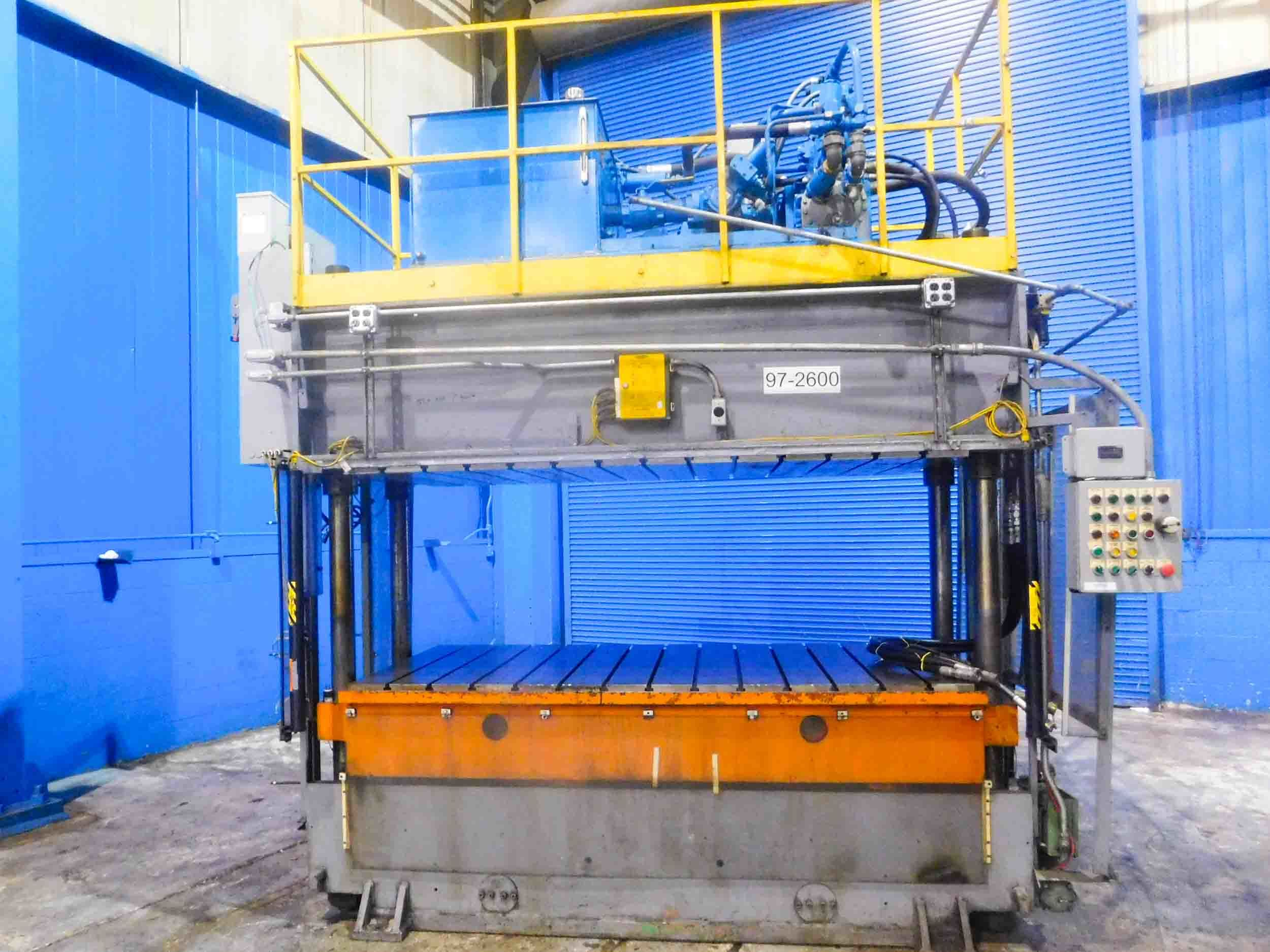 Used Presses For Sale - Jarecki - 4 Post Hydraulic Press