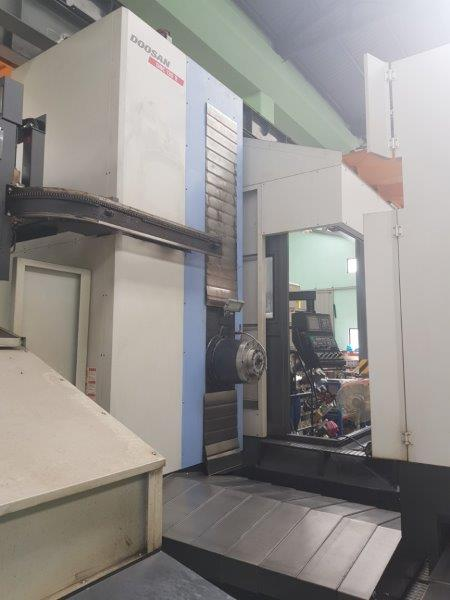 DOOSAN DBC-130 Table Top Horizontal boring Mill