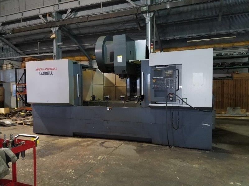 LEADWELL MCV-2000I Vertical Machining Center