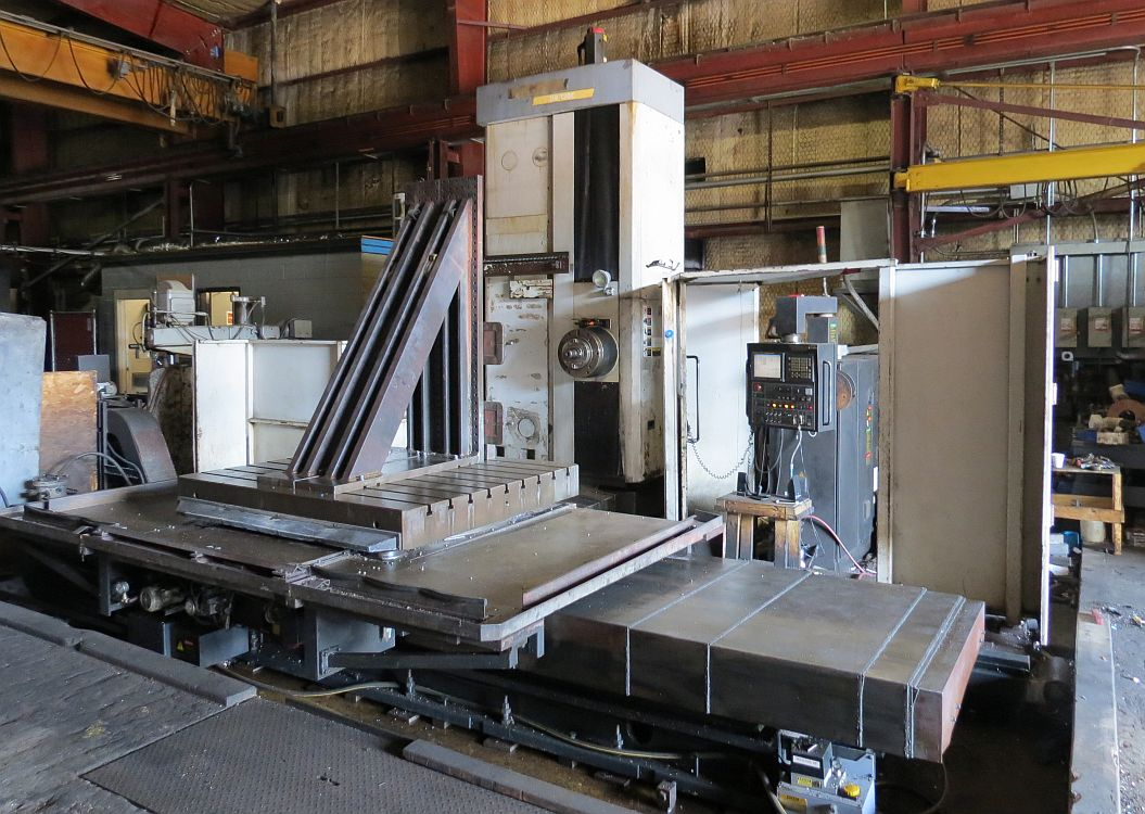 DOOSAN DBC-130C 5-AXIS CNC TABLE-TYPE HORIZONTAL BORING