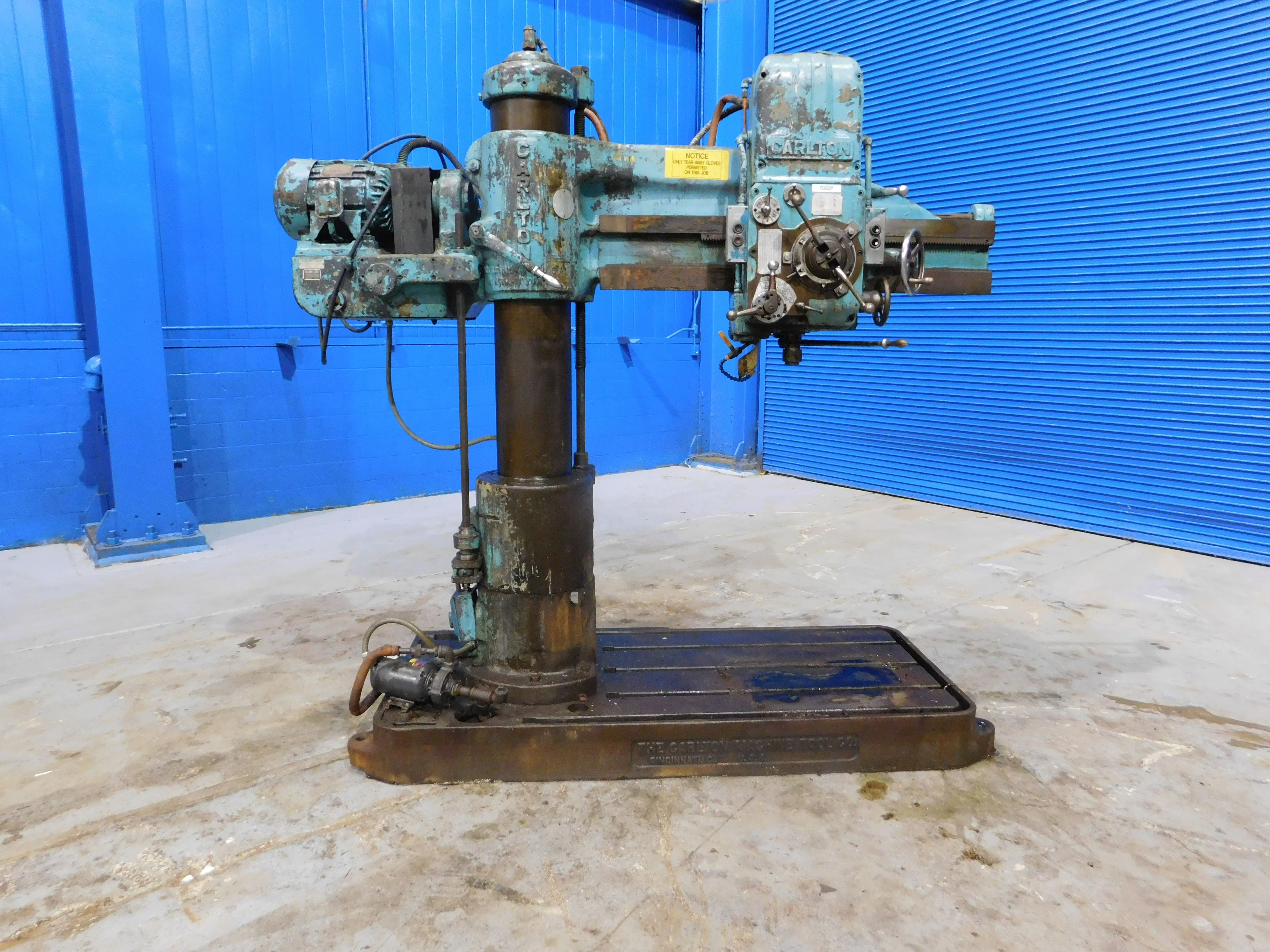 used drills manual and cnc for sale carlton radial arm drill 4 rh  machinetoolcommerce com Radial Drill Press Biggest Carlton Radial Drill