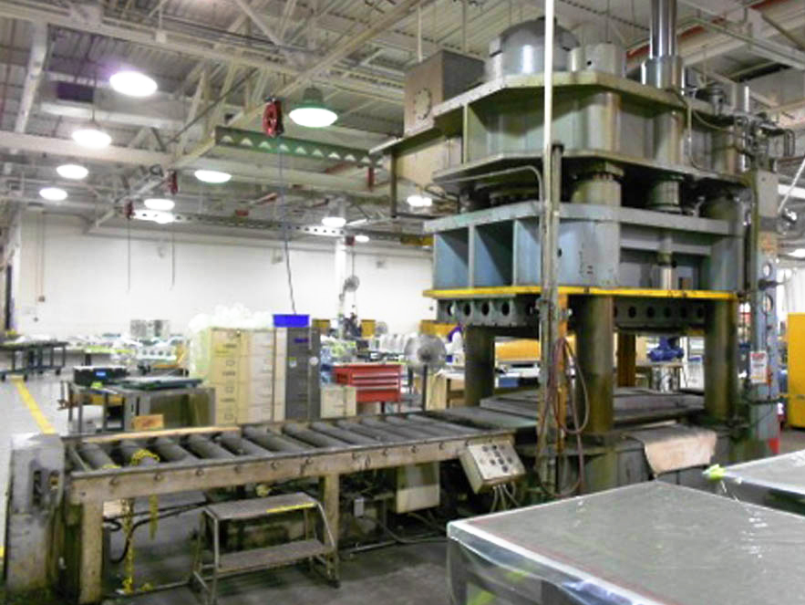 Used Presses For Sale - KR Wilson - 4 Post Hydraulic Press | 2,000
