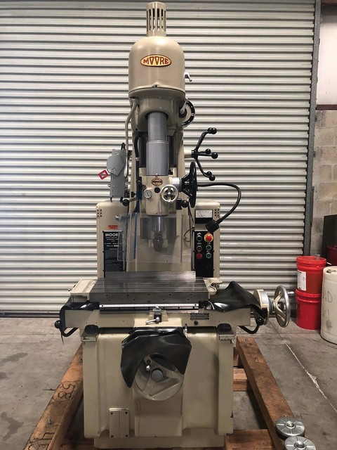 Used Jig Boring Machines For Sale Moore Precision Vertical Jig Borer