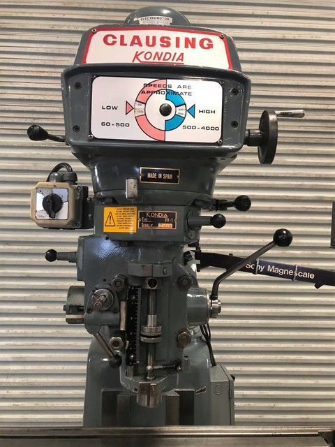 Used Milling Machines For Sale - CLAUSING KONDIA FV-1