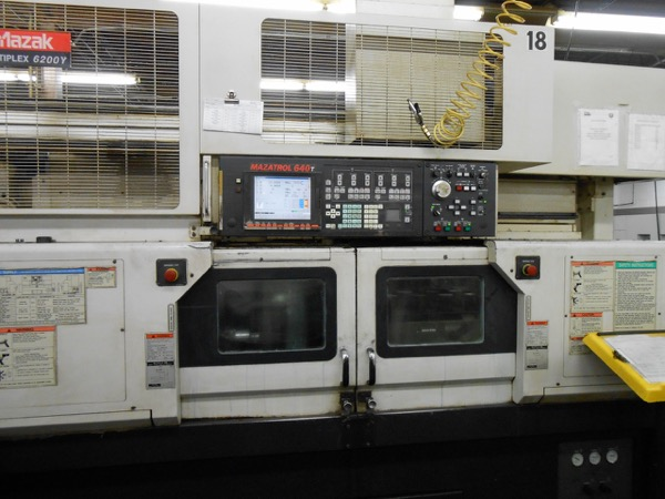 Used CNC Lathes And Turning Centers For Sale - Mazak Multiplex 6200Y