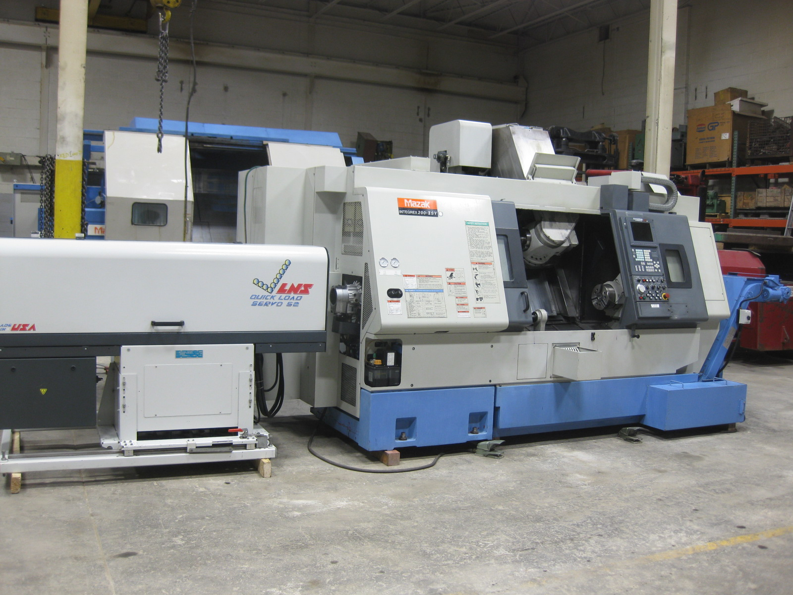 Used CNC Lathes And Turning Centers For Sale - MAZAK INTEGREX