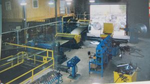 72 in x .135 in x 40,000 Lb Bradbury Loop Slitting Line