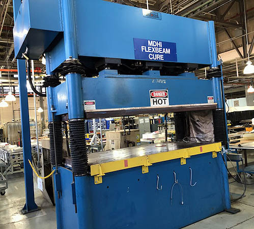 Used Presses For Sale - Heated Platen 560T Hydraulic Press