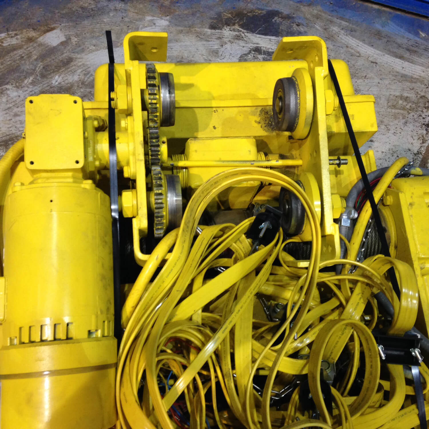 Used Hoists For Sale Acco Wright Electric Crane Hoist 2500 Lbs Wiring Diagram Home