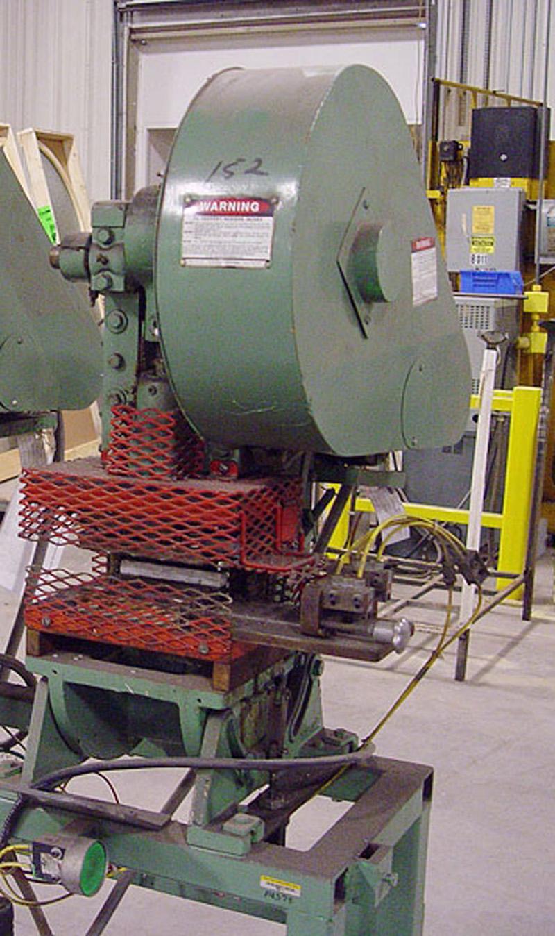 Used Presses For Sale - Alva Allen - OBI Punch Press   5 Ton 1
