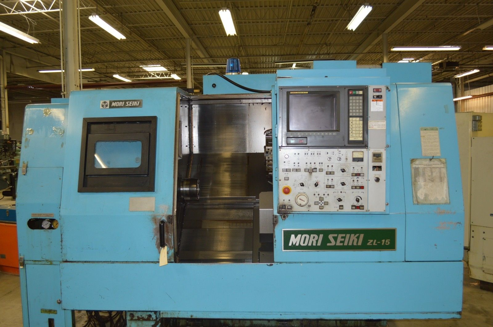 Used CNC Lathes And Turning Centers For Sale - MORI SEIKI ZL