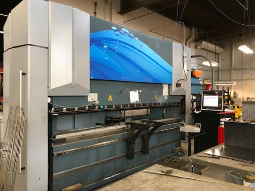 245 TON X 12 DURMA ADS-220 DELEM DA-66T, AUTO CROWNING,5-AXIS,MFG:2014   Our stock number: 11576