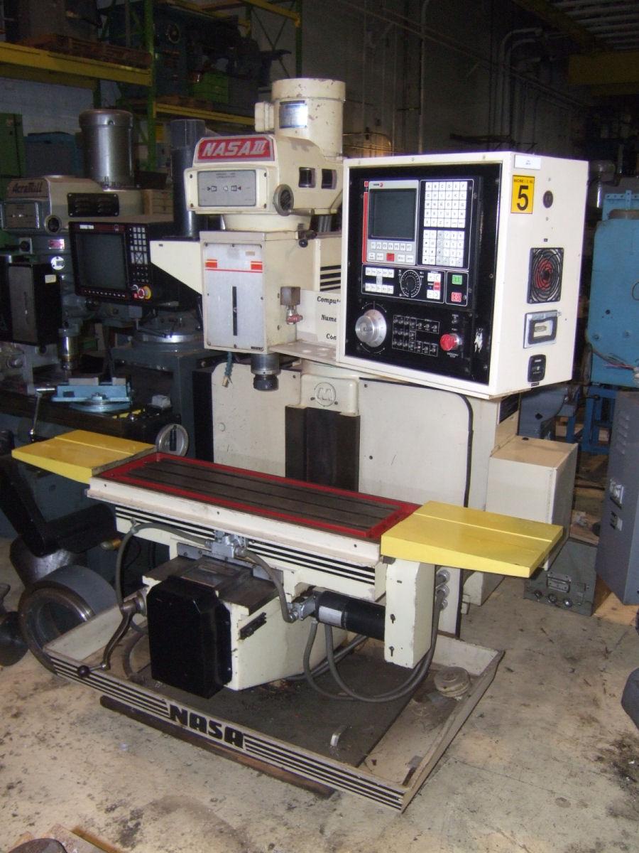 NASA III Vertical CNC Mill - 13