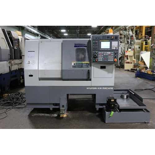 HYUNDAI-KIA MODEL SKT-160 CNC CHUCKER