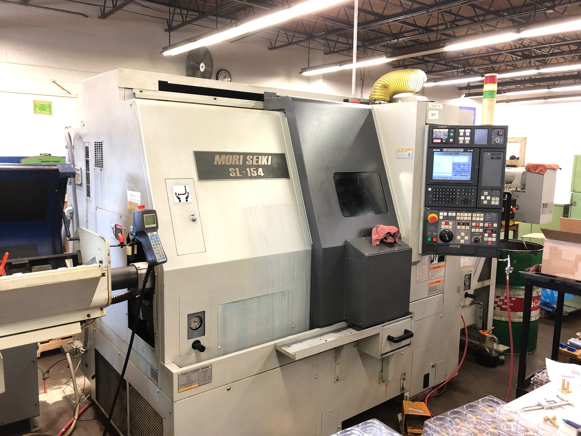 2002 Mori SL-154sy Turning center with barfeeder
