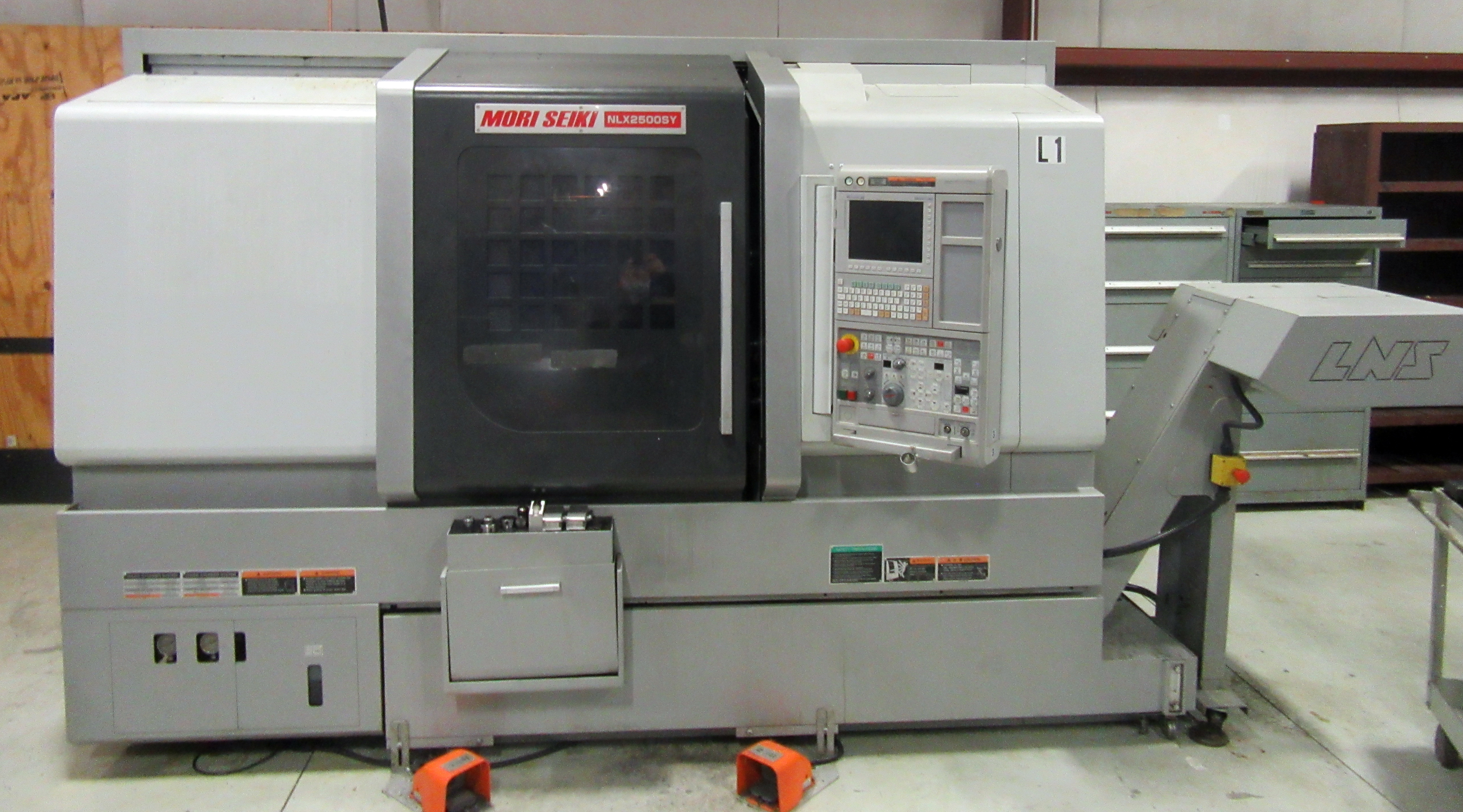 2013 Mori Seiki Model NLX2500SY/700 CNC Lathe (IPSUMM AUCTION)
