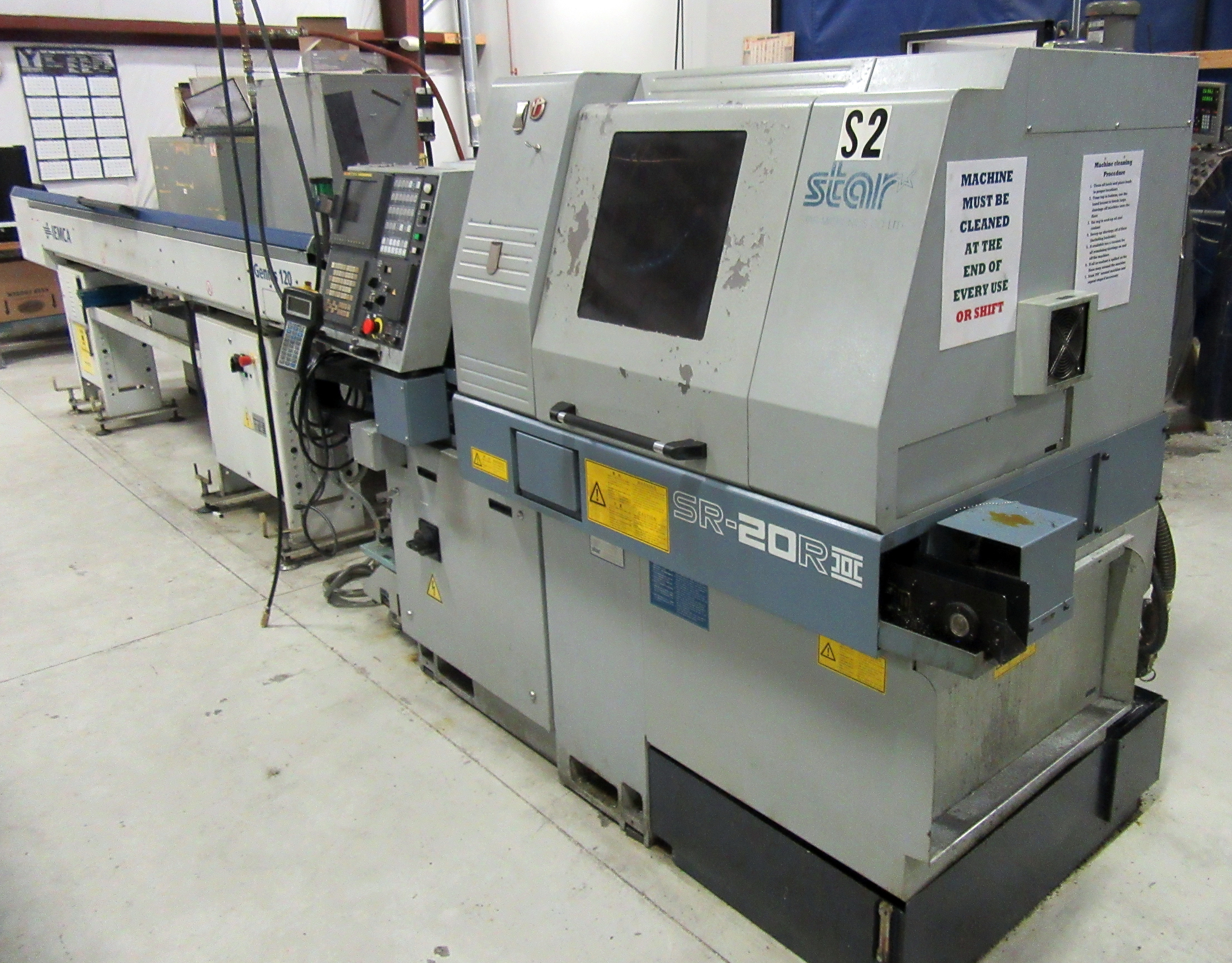 Star Model SR-20RII  CNC Swiss Type Turning Center (IPSUMM AUCTION)