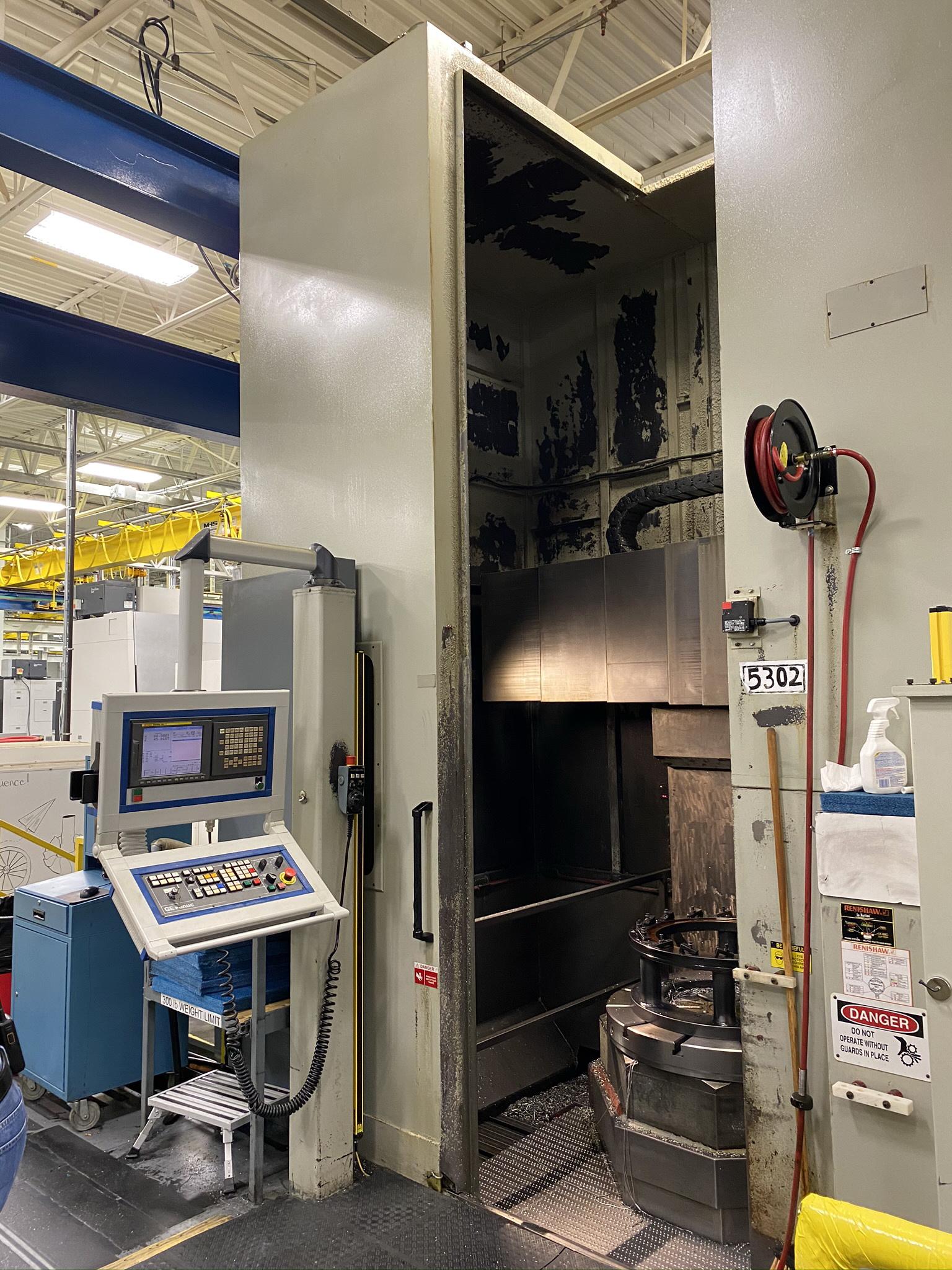 2008 Olympia Model V40 PF CNC Vertical Turning Center (Lot 2)