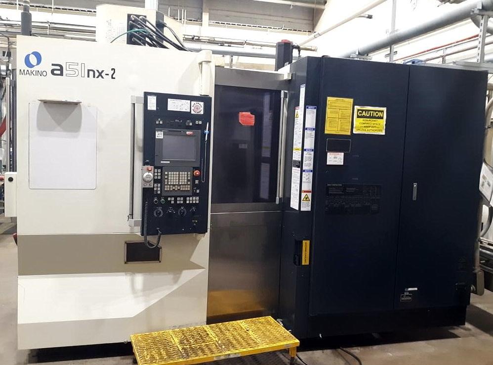 2014 Makino Model a51nx-2 CNC Horizontal Machining Center (LOT 301)