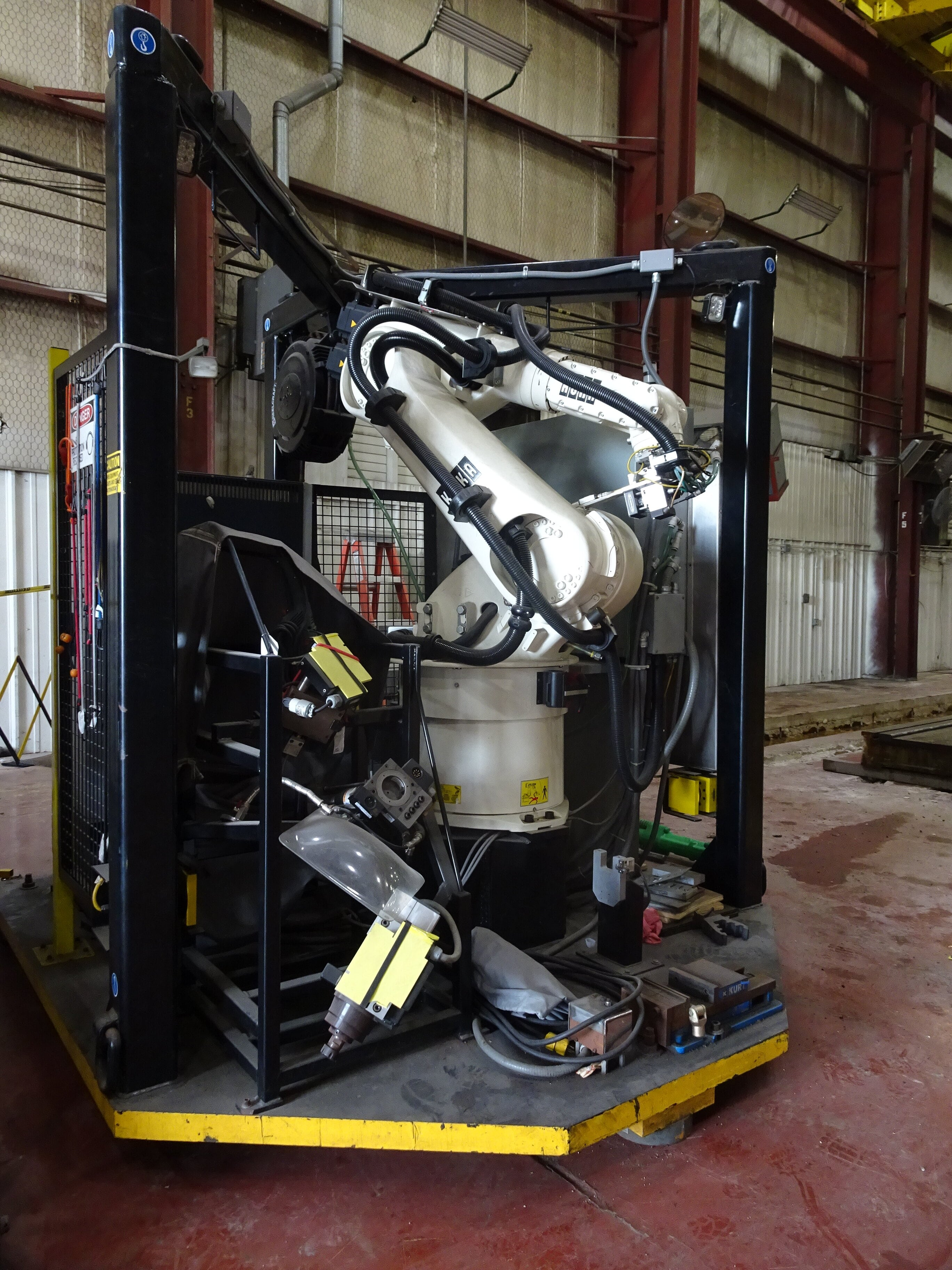 2010 Kuka KR 60L45A 2230 MM Range Robot Arm (Lot 168)